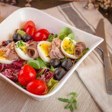 Salata cu ton si anchois